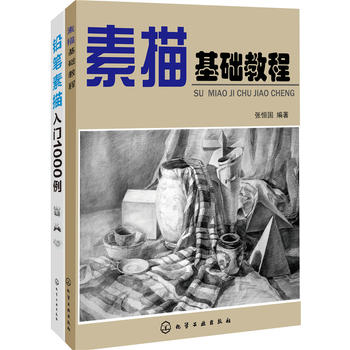 素描基础教程、实战1000例(套装2册)