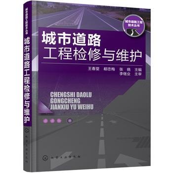 城市道路工程技术丛书--城市道路工程检修与维护