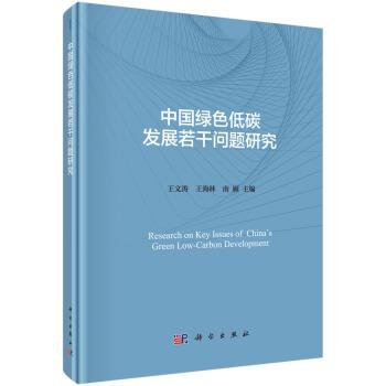 中国绿色低碳发展若干问题研究