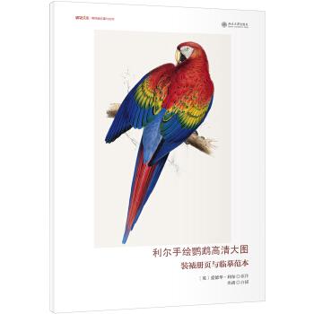利尔手绘鹦鹉高清大图 装裱册页与临摹范本