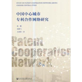 中国中心城市专利合作网络研究