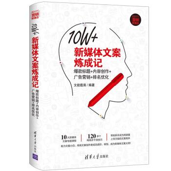 10W+新媒体文案炼成记:爆款标题+内容创作+广告营销+排名优化