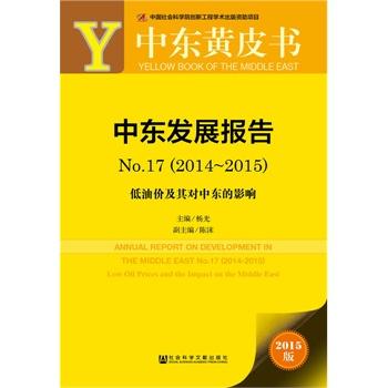 中东黄皮书:中东发展报告No.17(2014-2015)