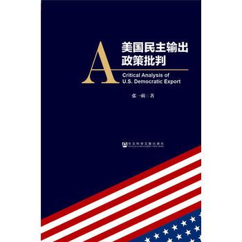 美国民主输出政策批判