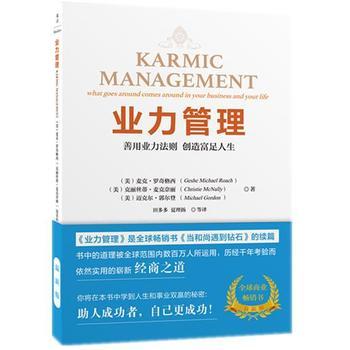 业力管理:善用业力法则、创造富足人生
