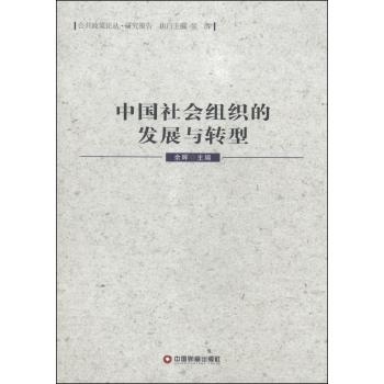 中国社会组织的发展与转型/公共政策论丛