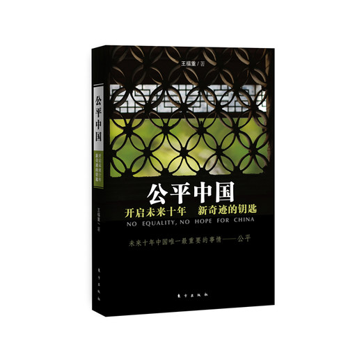 公平中国:开启未来十年新奇迹的钥匙