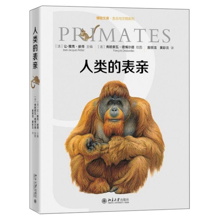 人类的表亲(精)/生态与文明系列/博物文库