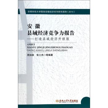 安徽县域经济竞争力报告--打造县域经济升级版(2014)/安徽财经大学服务安徽经济系列研究报告