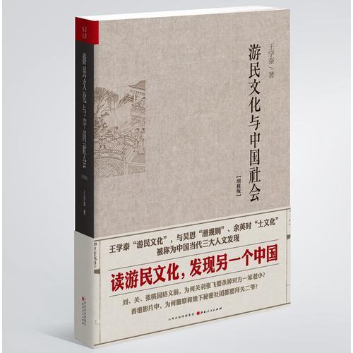 游民文化与中国社会增修版