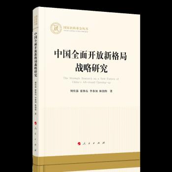 中国全面开放新格局战略研究(国家社科基金丛书—经济)
