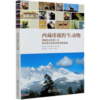 西藏珍稀野生动物(西藏自治区第二次陆生野生动物资源调查图册)(精)