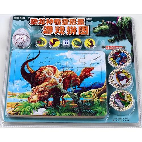 神奇变形蛋恐龙游戏拼图-超级巨无霸