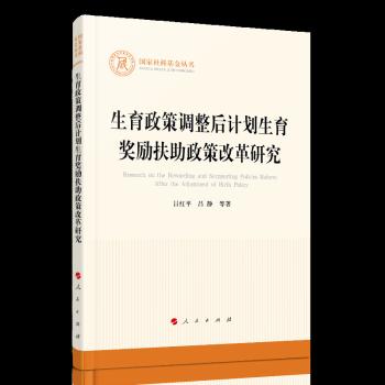 生育政策调整后计划生育奖励扶助政策改革研究(国家社科基金丛书—其他)