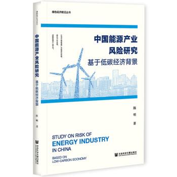 中国能源产业风险研究:基于低碳经济背景