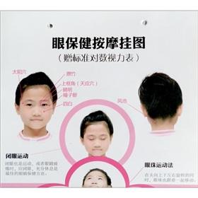 眼保健按摩挂图(赠标准对数视力表)