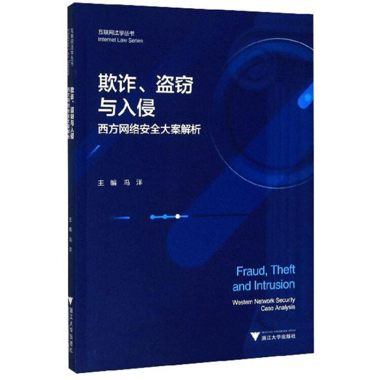 欺诈盗窃与入侵(西方网络安全大案解析)/互联网法学丛书