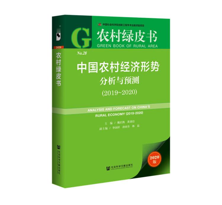 农村绿皮书:中国农村经济形势分析与预测(2019~2020)