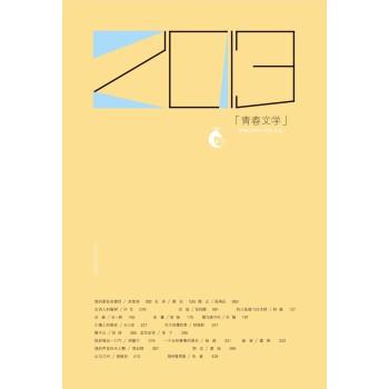 岩层:2013青春文学