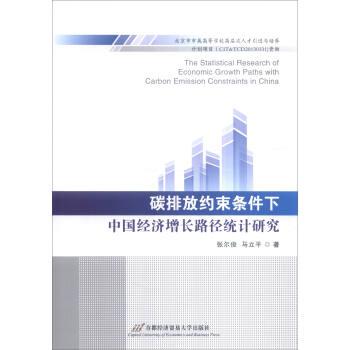 碳排放约束条件下中国经济增长路径统计研究
