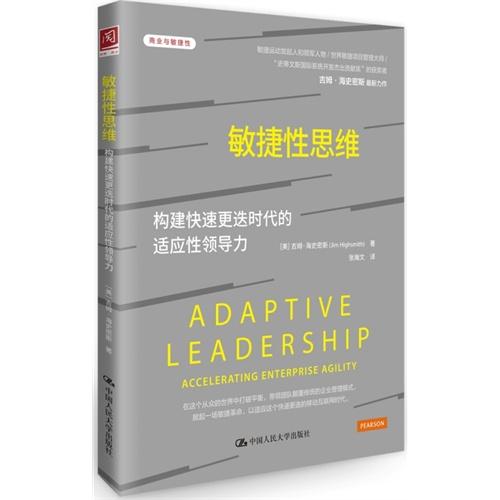 敏捷性思维:构建快速更迭时代的适应性领导力