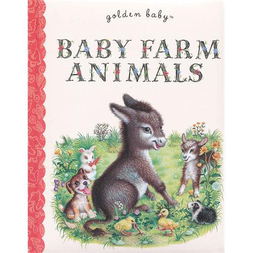 baby farm animals农场动物宝贝9780375861277
