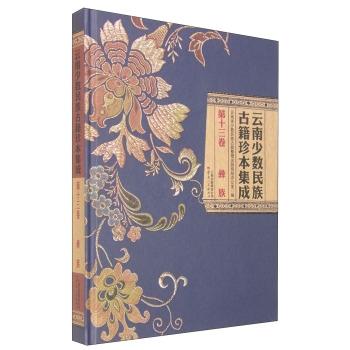 云南少数民族古籍珍本集成 第13卷 彝族