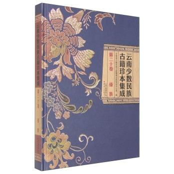 云南少数民族古籍珍本集成 第20卷 傣族