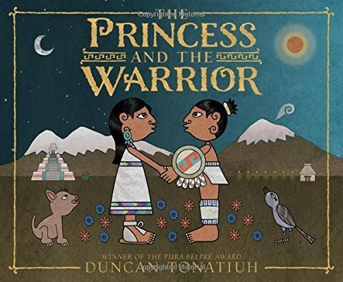 The Princess and the Warrior: A Tale of Two Volcanoes(Hardcover)