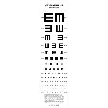 新版标准对数视力表