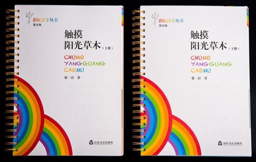 彩虹汉字丛书:盲文版·触摸阳光草木