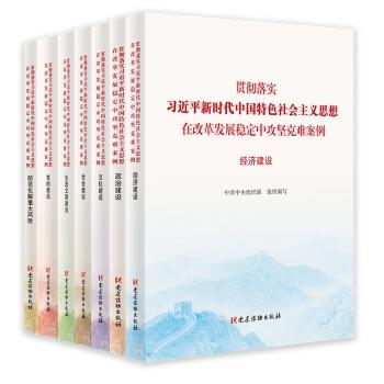 贯彻落实习近平新时代中国特色社会主义思想、在改革发展稳定中攻坚克难案例丛书(全套7册)