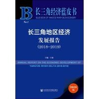 长三角经济蓝皮书:长三角地区经济发展报告(2018-2019)