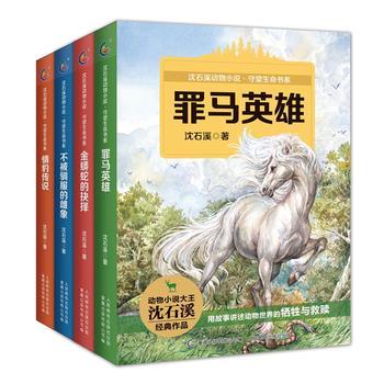 沈石溪动物小说·守望生命书系(套装共4册)