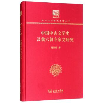中国中古文学史  汉魏六朝专家文研究(精装)